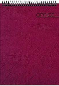 """Блокнот А6 60л.кл.гребень,карт.обл.АЛЬТ, """"Для конференций.Office"""" (бордовый) купить оптом и в розницу"""