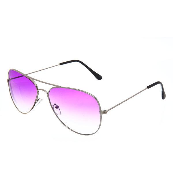 Очки солнцезащитные женские ″Авиаторы 2017″, тонкая оправа, цвет малиновый купить оптом и в розницу