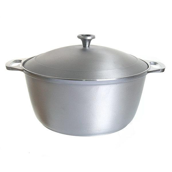 Кастрюля-жаровня 5 л литой алюминий КМ-ж50 купить оптом и в розницу