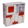 Набор для ванной из 4-х предметов керамический B12535 купить оптом и в розницу