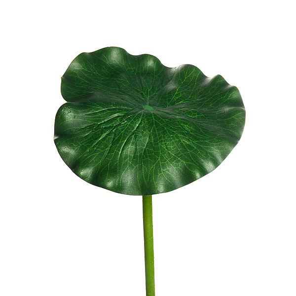 Растение водоплавающее ″Лист лотоса″ 17х90см купить оптом и в розницу