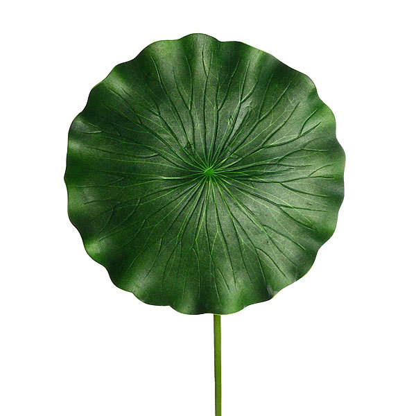 Растение водоплавающее ″Лист лотоса″ 28х90см купить оптом и в розницу