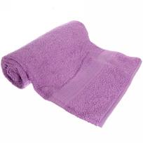 Махровое полотенце 70*140см сиреневое ЭК140 Д01 купить оптом и в розницу