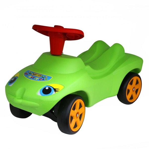 Каталка Мой любимый автомобиль зелен.звук 44617 П-Е /1/ купить оптом и в розницу