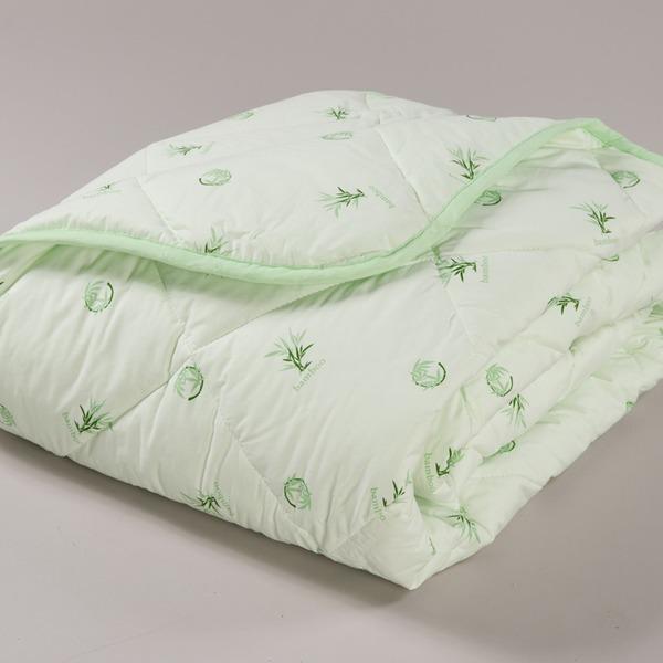 Одеяло 1.5 бамбук/волокно тик в чемодане арт.173 Миромакс  купить оптом и в розницу