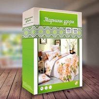 КПБ 2.0 бязь 125 гр Марьины узоры  купить оптом и в розницу