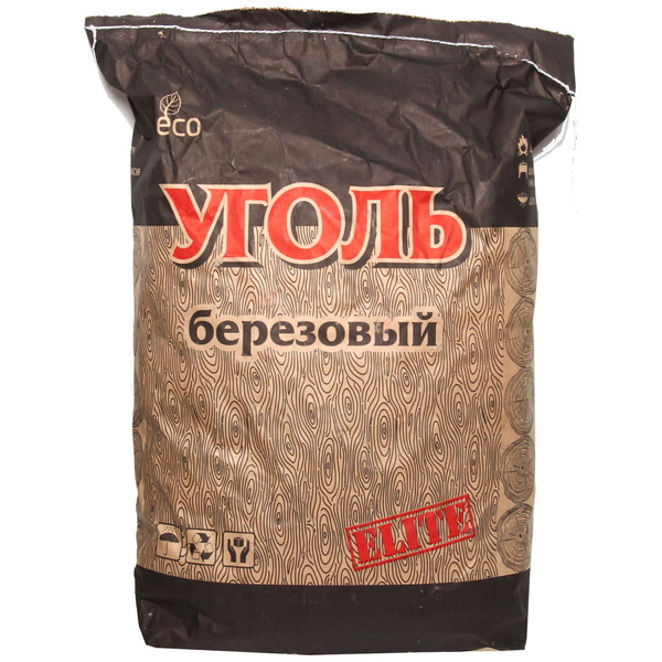 Уголь березовый, 5кг(П) купить оптом и в розницу