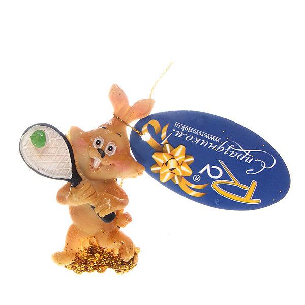 Магнит из полистоуна ″Кролик спортсмен″ купить оптом и в розницу