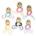 Резинка для волос ″Коллекция Барбара″ нежные полосочки 150-10 купить оптом и в розницу