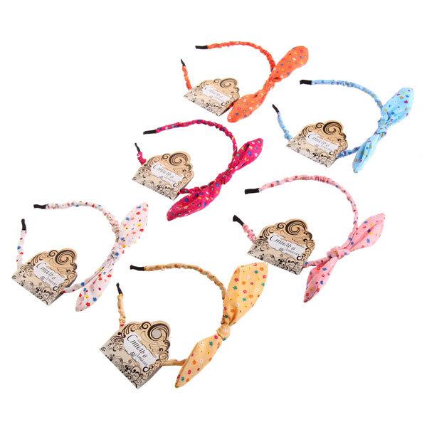 Ободок для волос ″Коллекция Барбара - ромашки″, цвет микс купить оптом и в розницу