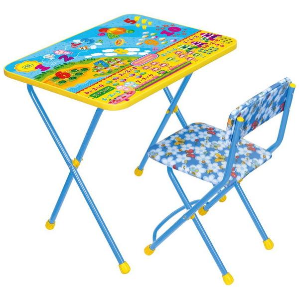 Набор детской мебели ″Математика в космосе″ складной, мягкий стул КП2/8 купить оптом и в розницу
