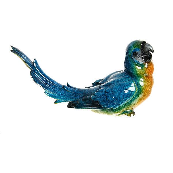Статуэтка из полистоуна ″Волнистый попугайчик″ 12*20см 3155A купить оптом и в розницу