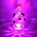 Фигурка с подсветкой ″Ёлочка новогодняя, яркий блеск″ 10см PVS купить оптом и в розницу
