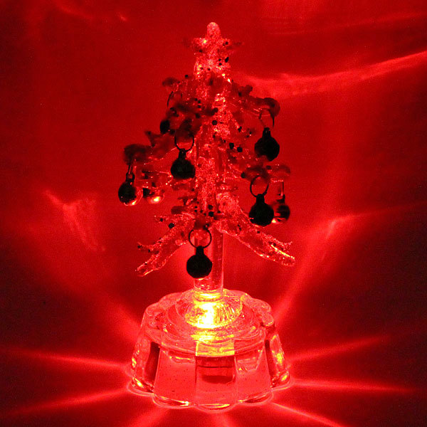 Фигурка с подсветкой ″Ёлочка алмаз″ 12см PVS купить оптом и в розницу