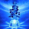 Фигурка с подсветкой ″Ёлочка, синие шарики″ 12см PVS купить оптом и в розницу
