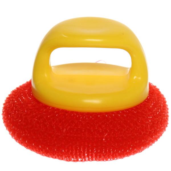Губка для мытья посуды с ручкой купить оптом и в розницу