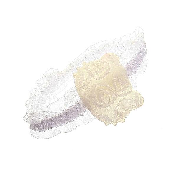 Ободок-резинка для волос ″Нежные розочки″, цвет микс купить оптом и в розницу