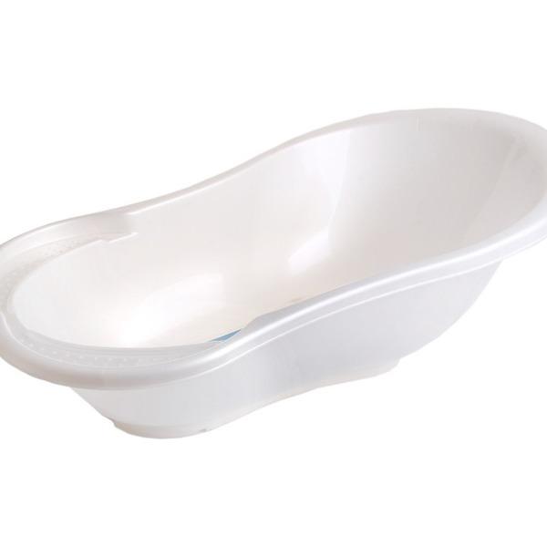 """Ванночка детская """"Ангел"""" со сливом и термометром 84 см белый перламутр купить оптом и в розницу"""
