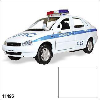 Модель ЛАДА Калина  Милиция 11496 1:34/39 купить оптом и в розницу