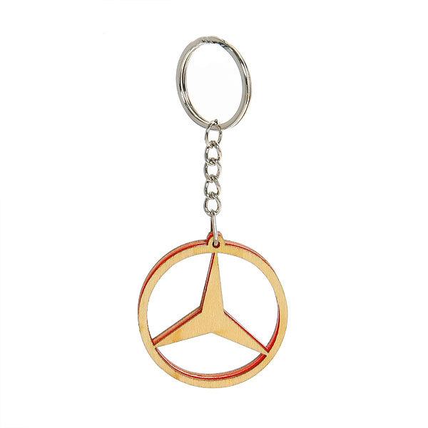 Брелок ″Деревянный калейдоскоп″ Mercedes купить оптом и в розницу