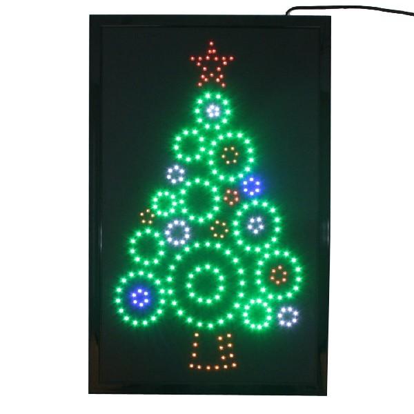 Световое табло LED 38*60см ″Ёлка″, 220B, 5 цветов (Н-1) купить оптом и в розницу