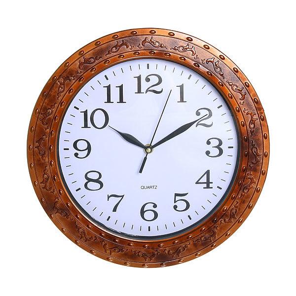 Часы настенные ″Фрегат″бордо d-33см 35007 купить оптом и в розницу