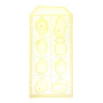 Форма для льда пластиковая ″Фрукты″ купить оптом и в розницу