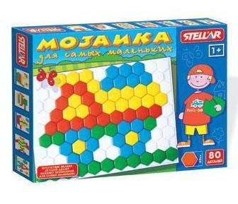 Мозаика d 40мм 80 дет 01009 Стеллар /10/ купить оптом и в розницу