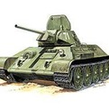 Сб.модель П3535 ПН Танк Т-34/76-1942г купить оптом и в розницу