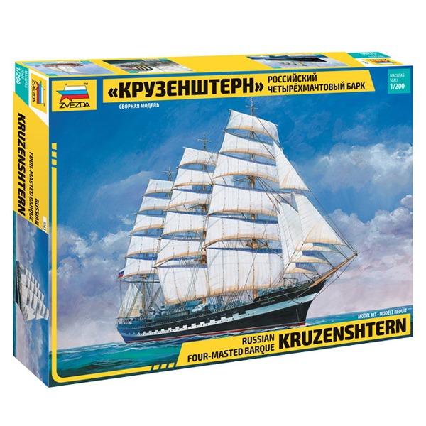 Сб.модель 9045 Российский четырехмачтовый барк Крузенштерн купить оптом и в розницу