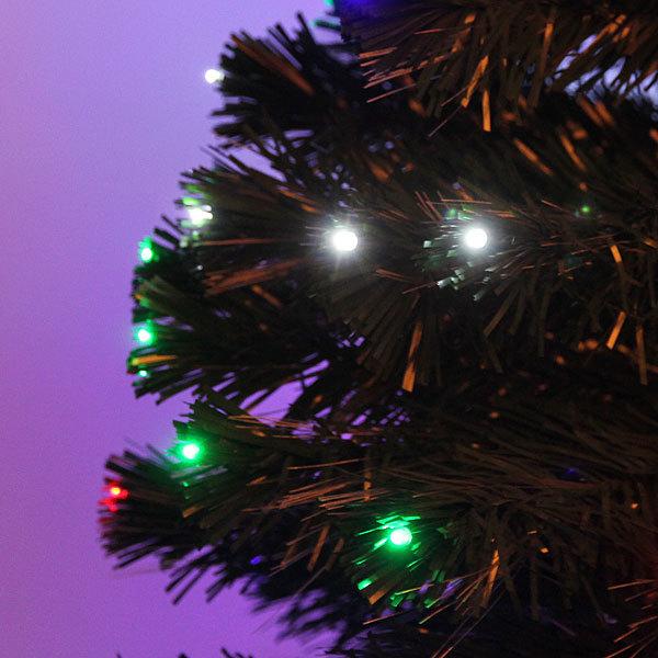 Елка светодиодная 150см оптоволокно + 180 LED CX673A-5 купить оптом и в розницу