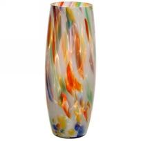Ваза-Бочка h=26см стеклокрошка разноцветная купить оптом и в розницу