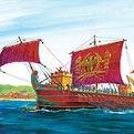 Сб.модель П9019 Римская Императорская Трирема купить оптом и в розницу