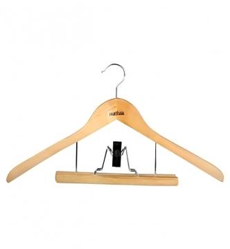 Matissa Вешалка для костюма деревянная/*50 купить оптом и в розницу