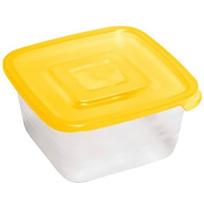Контейнер пластиковый пищевой ″Унико″ 0,45л квадратный купить оптом и в розницу