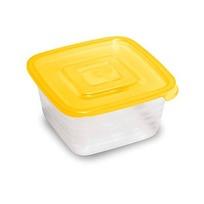 Контейнер пластиковый пищевой ″Унико″ 0,45л квадратный С208 купить оптом и в розницу