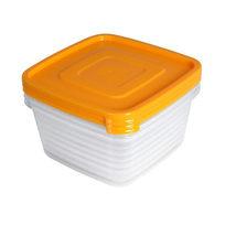 Набор контейнеров 3шт ″Унико″ (3х0,9л) купить оптом и в розницу