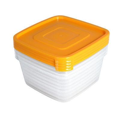 Набор контейнеров 4шт ″Унико″ (4х0,9л) купить оптом и в розницу