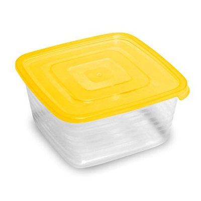 Контейнер пластиковый пищевой ″Унико″ 0,9л квадратный купить оптом и в розницу