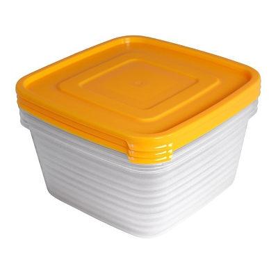 Набор контейнеров 3шт ″Унико″ (3х1,4л) купить оптом и в розницу