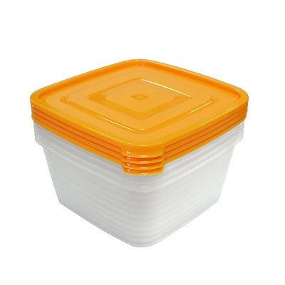 Набор контейнеров 4шт ″Унико″ (4х1,4л) купить оптом и в розницу