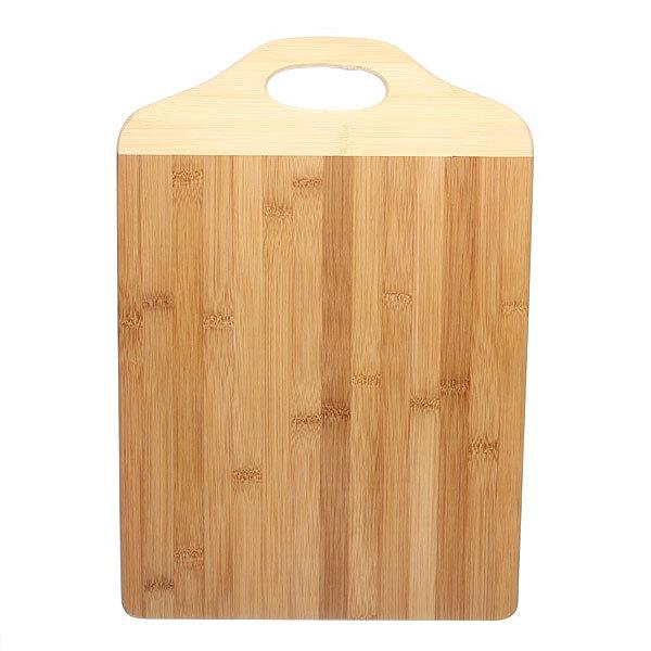 Доска разделочная из бамбука с ручкой 29*41,5*1,5см PTC2942 купить оптом и в розницу