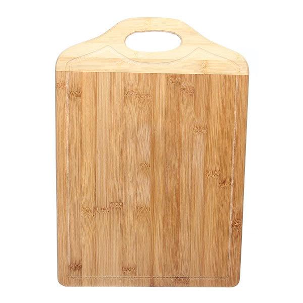 Доска разделочная из бамбука с ручкой 29*41,5*1,5см купить оптом и в розницу
