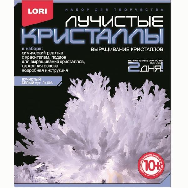Набор ДТ Лучистые кристаллы Белый кристалл Лк-006 Lori купить оптом и в розницу