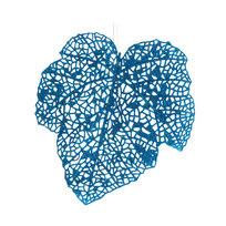 Ёлочная игрушка подвеска 22см ″Листочек осиновый резной блестящий″ микс купить оптом и в розницу