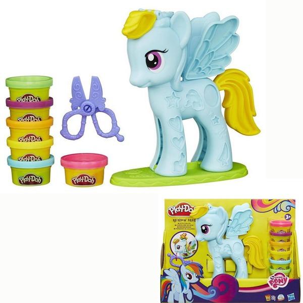 Play-Doh Набор Стильный салон Рэйнбоу Дэш В0011 купить оптом и в розницу