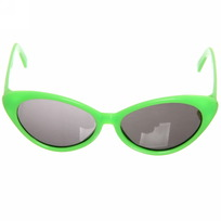 Очки солнцезащитные детские, форма овальная ″Яркое лето″, однотонные, на душке узор, микс 6 цветов купить оптом и в розницу