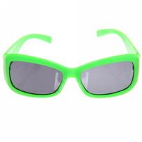 Очки солнцезащитные детские, форма прямоугольная ″Яркое лето″, однотонные с блестками, микс 6 цветов. купить оптом и в розницу
