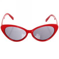 Очки солнцезащитные детские, форма кошка ″Яркое лето″, однотонные, глянцевые, микс 6 цветов купить оптом и в розницу