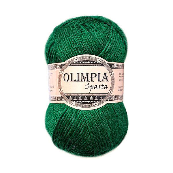 Пряжа для вязания Olimpia Sparta цв.IR8 изумруд 500г 5шт купить оптом и в розницу